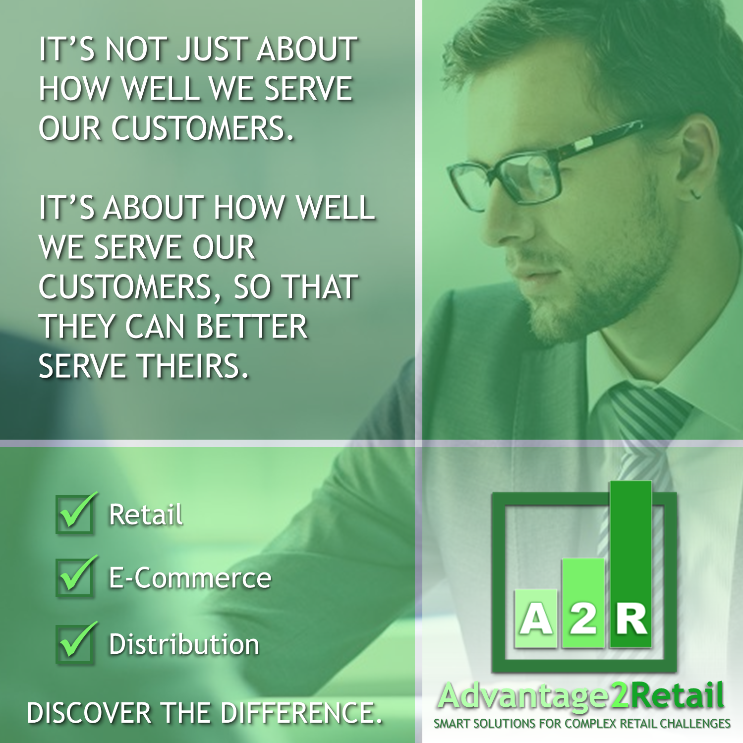 Retail, E-Commerce, Distribution - Discover the Difference - A2R