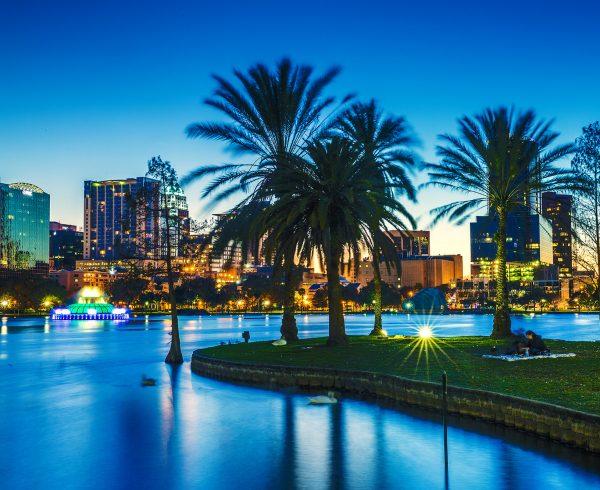 Skyline of Orlando Urban Paradise