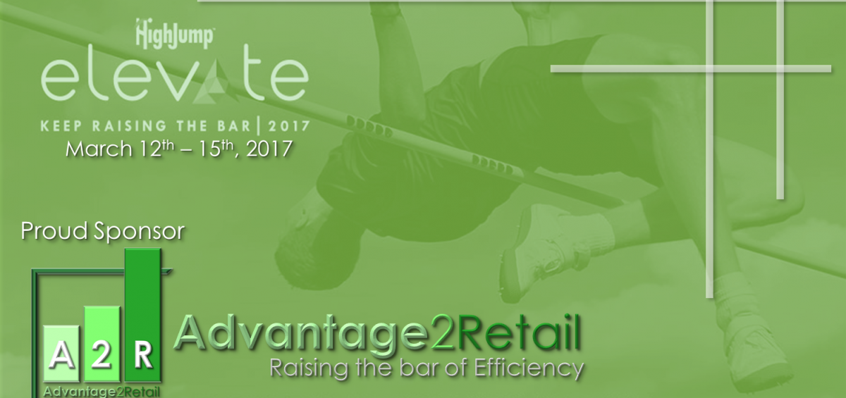 highjump elevate 2017 conference advantage2retail proud sponsor